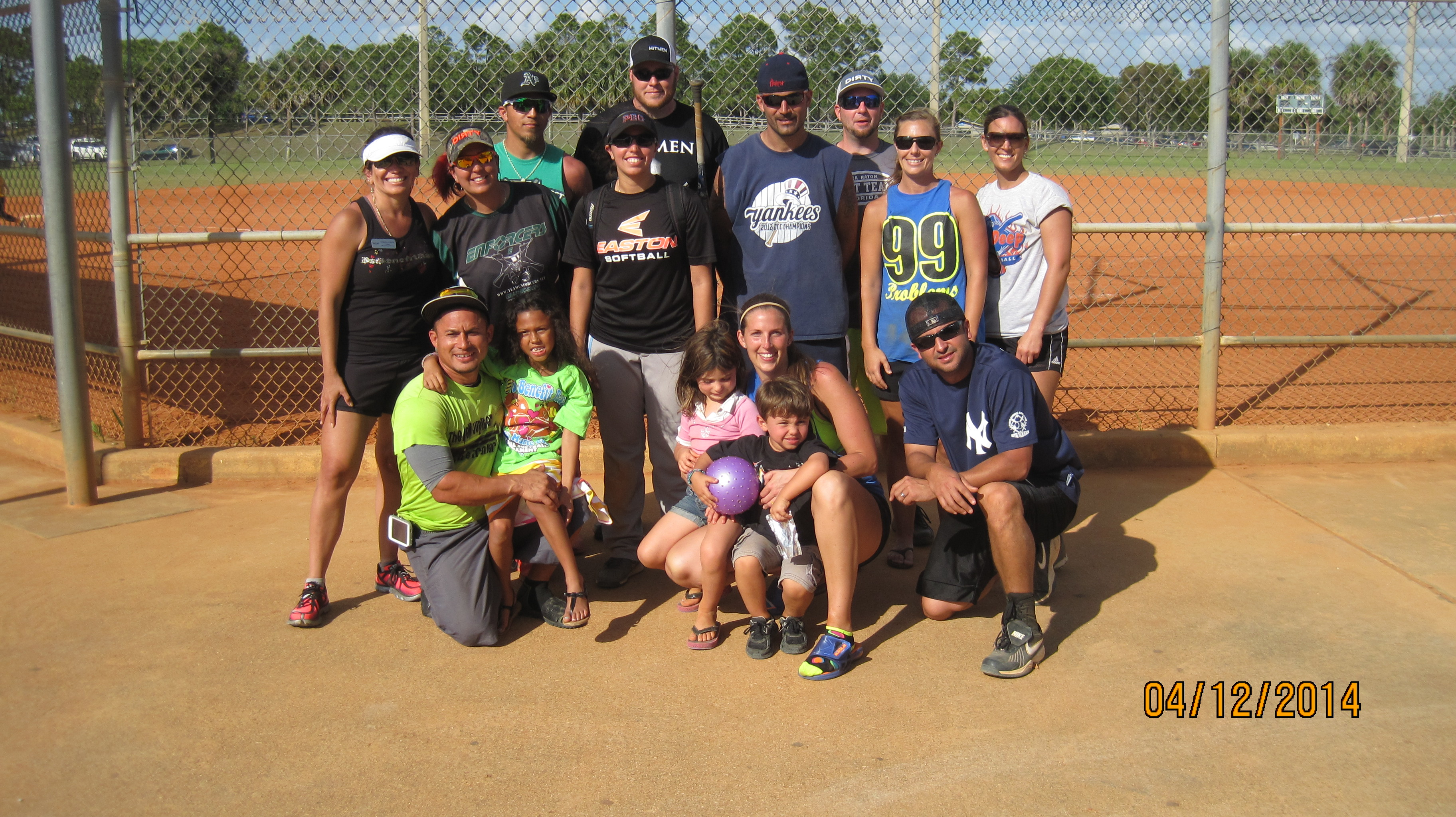 2014 Co-ed Slowpitch Tournament Played in Perfect Weather ...
