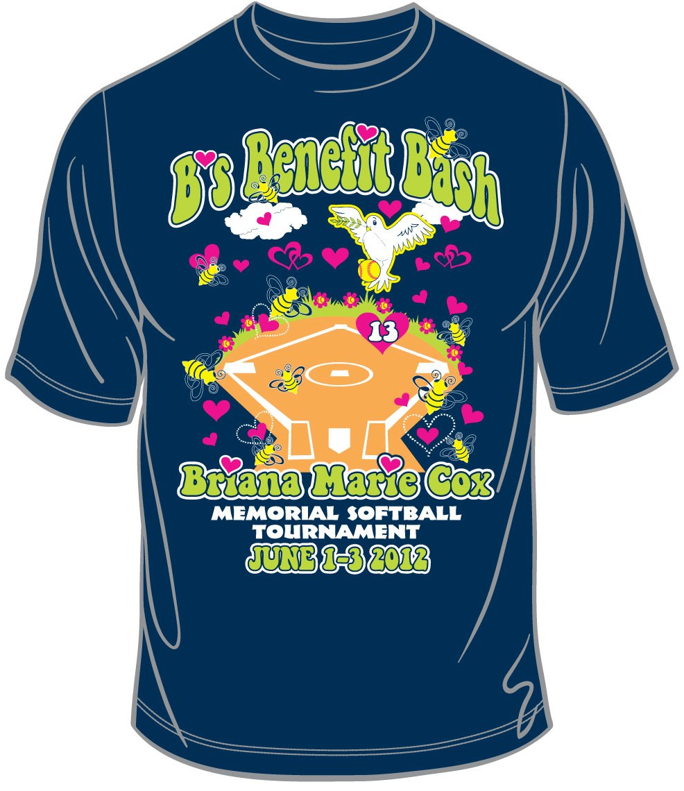 Tournament Shirt Archive Briana Marie Cox Foundation